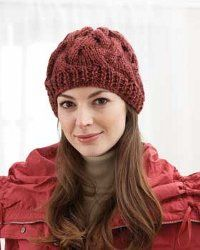 Knit Hat Patterns Not In The Round : 1000+ images about knitting - hats and gloves on Pinterest Hat patterns, Ra...