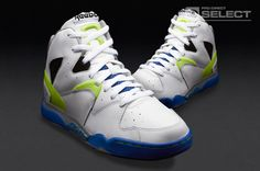 a06cd0f774d Reebok Classic Jam - Mens Select Footwear - White-Reebok Royal-Neon Yellow  Reebok