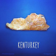 Pin for Later: Foodie Dad Has the Coolest Way to Teach His Son Geography Kenturkey