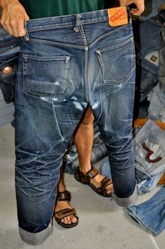 Worn out Denime jeans