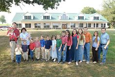 Duggar family in front of their home. pictures of arkansas - Bing Images