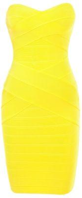 Herve Leger One-Shoulder Bandage Dress | Chic Dress Style ...