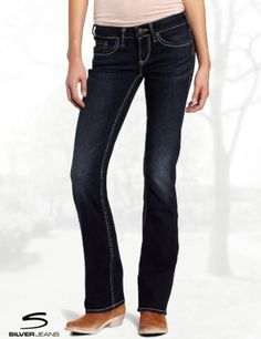Silver Jeans Juniors Aiko Curvy Bootcut Jean