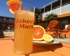 2 parts Maker's Mark 0.5 parts Orange Liqueur  Squeeze of 1/2 Cara Cara or Blood Orange Lemon wedge Sparkling water (lemon/orange flavored works well!) Shake all of these ingredients up, pour over ice and top with the seltzer water. Cheers!  Perfect #BlackEyedSusan riff for your #Preakness party! #HorseRacing #Party #Spring #Cocktail