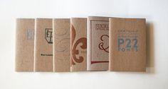 P22 Type Specimen Chapbooks by P22 Type Foundry , via Behance
