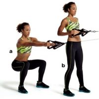 Cable Squat to Row