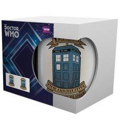 Tardis Tattoo - Kop van Doctor Who