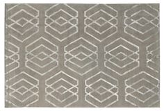 Very similar to S's: Tanaria rug in wool/silk by Stark