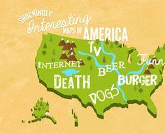 8 Shockingly Interesting Maps Of America