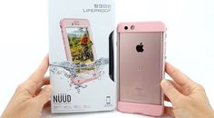 LifeProof NUUD in First Light Pink for iPhone 6s Plus