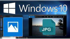 Conoce como solucionar el problema que impide la visualización de imágenes con formato JPG ✅ en la app predeterminada Fotos de Windows 10. #JPG #Windows10 #Microsoft #fotos downloadsource.es