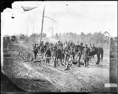 """The movements of armies in the war created so much mud that often the only way to move heavy equipment like  cannon or wagons was to build """"corduroy roads"""" from wood."""