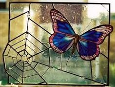 Image result for butterfly stained glass