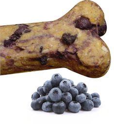 Blueberry Gourmet Dog Treats via Etsy #DogTreats