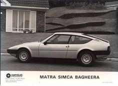 1978 Matra Simca Bagheera