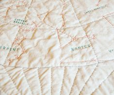 Constellation Quilt, Haptic Lab, Constellations In The Sky, Jasika Nicole, Quilt Patterns, Diy And Crafts, Embroidery, Quilts, Sewing