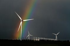 Rainbow over the barrier #3 by jinterwas, via Flickr