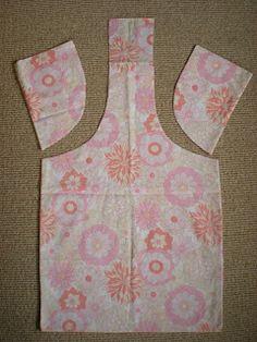 Vintage pillowcase? No, a shopping bag!