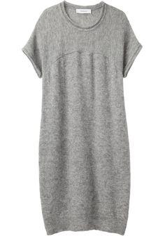 knit shirt dress ++ chalayan grey line