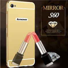 For Lenovo S60 Case Mirror Plating Aluminum Metal Frame Acrylic Alloy Plastic Back Cover For Lenovo S 60 S60T Phone Cases #clothing,#shoes,#jewelry,#women,#men,#hats,#watches,#belts,#fashion,#style