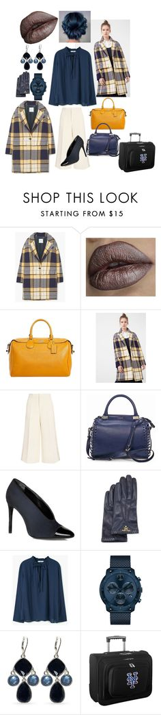 """""""Boss Life NYC.. Business Class.."""" by cosalincolnstjohns ❤ liked on Polyvore featuring MANGO, Coach, Joseph, Lanvin, Prada, Movado, Nine West and Denco Sports Luggage"""
