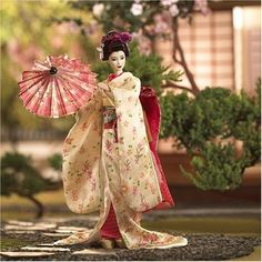 Cute Japanese Doll. This one is a Maiko Doll. A Maiko is a Geisha Apprentice