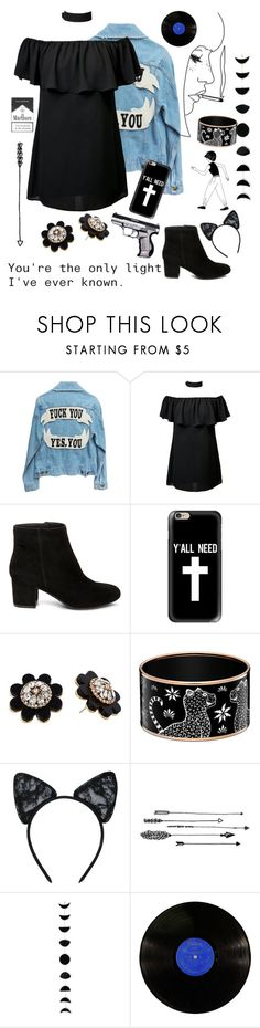 """""""Marlboro."""" by unicornpotter ❤ liked on Polyvore featuring Steve Madden, Casetify, Kate Spade, Maison Close and Forever 21"""