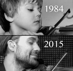 David Garrett - Then and Now David Garrett, Josh Gorban, Bae, Music Lessons, Music Love, Good Looking Men, Then And Now, Classical Music, Leiden