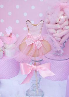 Kara's Party Ideas Pink Ballerina Dance Ballet Girl 4th Birthday Party Planning Ideas