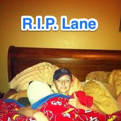 At 7:53pm on October 17th, a very special little boy gained his angel wings. Lane Goodwin was fighting a rare form of childhood cancer, repin to show support for his family <3