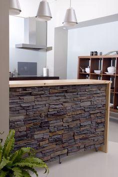 Barra cocina americana en Decoración, Soluciones de decoración, Muebles