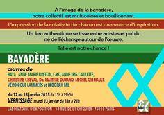 Expo Bayadère Janvier 2015
