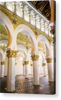 Spain Acrylic Print featuring the photograph Synagogue Of St Mary The White II by Joan Carroll