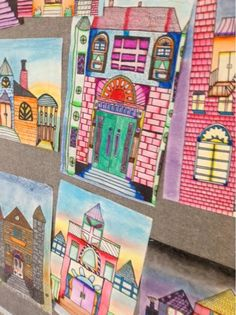 Every quarter in 7th grade art, we attempt an architecture drawing project. Last quarter, it was castle design. This quarter we went back t...