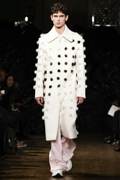 Xander Zhou Menswear Fall Winter 2014 London - NOWFASHION