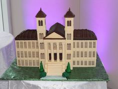 Now that is a cake for a Wofford man.