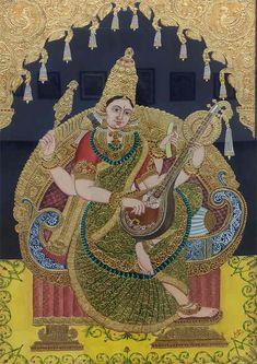 Yashoda Krishna, Krishna Hindu, Durga, Mysore Painting, Madhubani Painting, Traditional Paintings, Traditional Art, Lord Krishna Images, Ganesha