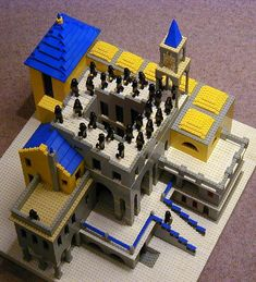 Escher in Legos