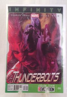 MARVEL THUNDERBOLTS #016 COMIC BOOK Soule Palo  Direct Edition 2013 Infinity  | eBay