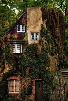 When I was little I said I wanted to live in a tree house. I didn't think people really did! Maybe it is possible! :)