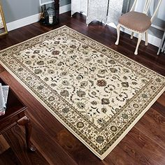 Kendra 137 W Traditional Rug Beige Cream 200 x 285cm (6ft... https://www.amazon.co.uk/dp/B00M0M5KTM/ref=cm_sw_r_pi_dp_x_KwgHzbMCMK9DG
