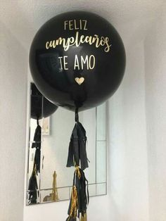 Birthday Surprise Boyfriend, Cute Birthday Gift, Birthday Gift Baskets, Diy Birthday, Happy Birthday, Birthday Balloon Decorations, Birthday Balloons, Relationship Gifts, Love Coupons