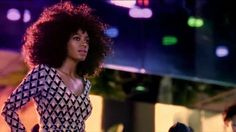 Solange in the Music Video for Blow.