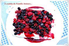 A cozinha da família Antunes: Um fim de semana doce...