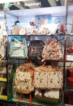 89473b37c8e8 HosannArt bags selling at the Hong Kong Deisgn Gallery at the Airport