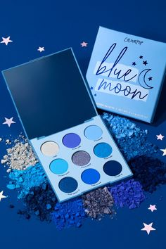 This blue monochromatic eyeshadow palette are what dreams are made of. 🌙 With its unique range of blue shadows in matte, metallic, and duochrome finishes, this palette gives you the creative edge to make any look you want. Colourpop Eyeshadow, Colourpop Cosmetics, Bh Cosmetics, Eyeshadow Makeup, Blue Eyeshadow Palette, Makeup Palette, Makeup To Buy, Makeup Kit, Makeup Stuff