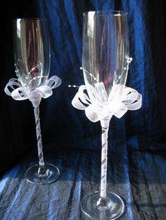 coupe de champagne mariés