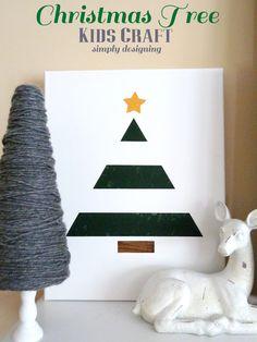 Christmas Tree {Kids Craft}