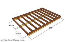 This step by step diy project is about lean to shed plans. This compact shed has a lean to roof with a front oriented slope. The shed also comes with double front doors, for an easy access. You can build this shed in one week and save a lot of money. 8x12 Shed Plans, Lean To Shed Plans, Free Shed Plans, Shed Building Plans, Bbq Shed, Shed Frame, Diy Storage Shed Plans, Shed Design Plans, Loafing Shed