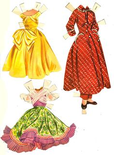 Lennon Sisters 1957 - Bobe Green - Picasa Webalbum* 1500 free paper dolls international artist Arielle Gabriel's The Internatonal Paper Doll Society for paper doll pals at Pinterest *